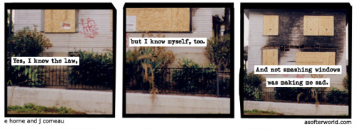 A Softer World: 772 (i hear smashing glass in my head, every time i laugh.)