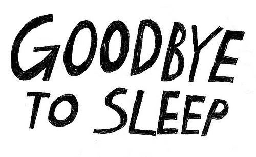 goodbye to sleep (by Beverly Ealdama) degausser - brand new  one of my favorite songs