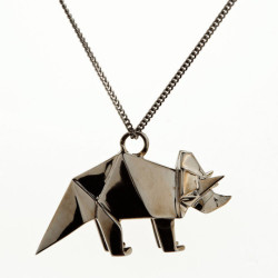 Fab.com Flash Sale: Origami Jewelry Limited quantity.Fab.comWhen it comes to animals leaving the kingdom and joining the jewelry world, the risk of becoming too cutesy can occur. Origami Jewelry's Parisian-based Claire Naa and Arnaud Soulignac use gunmetal-hued sterling silver to create a happy medium of cute, cool and sculptural art pieces in this collection of necklaces.