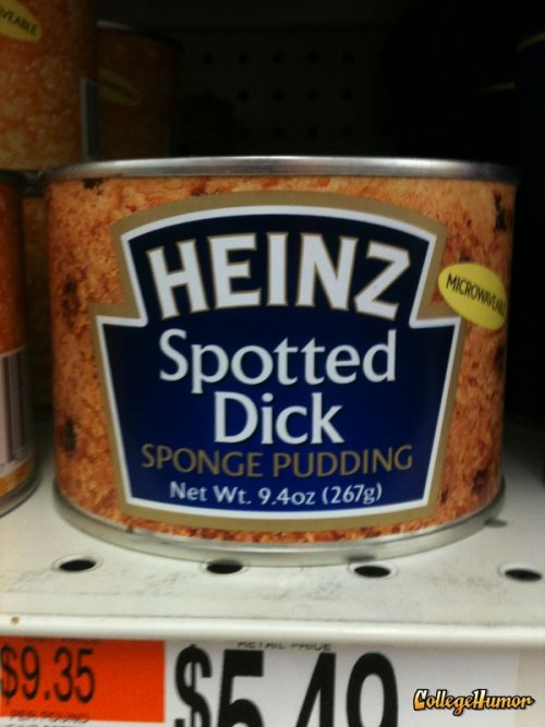 Spotted Dick Sponge Pudding   I swear it's not usually this spongey.