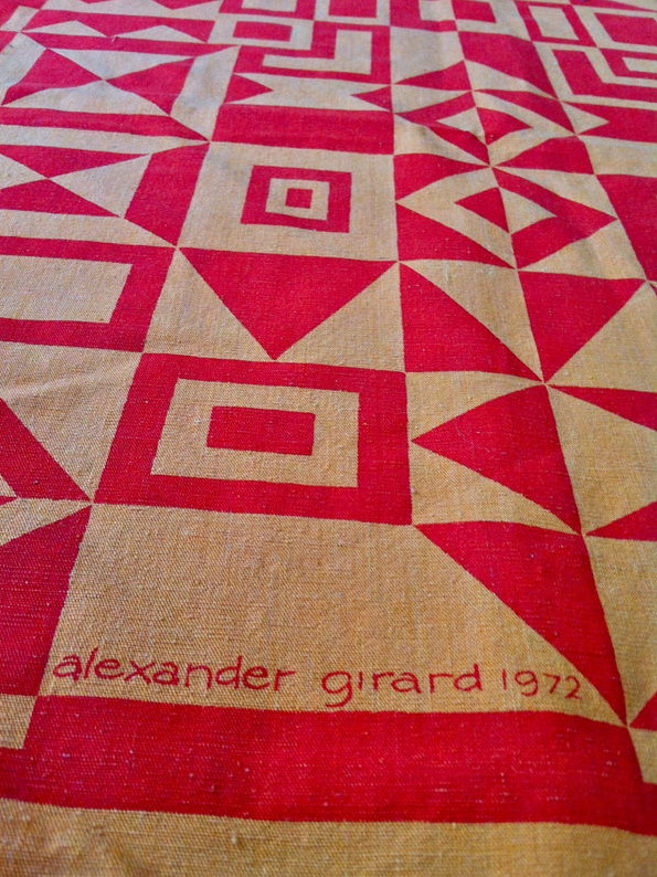 Vintage Original Alexander Girard for  Herman Miller Textile Wall Hanging. Item number:	290670916759