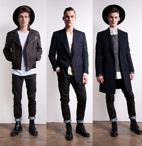 gqfashion:  First Look: Public School Fall 2012 See the full Public School Fall 2012 men's collection from New York right now at GQ.com.  Posh. :D