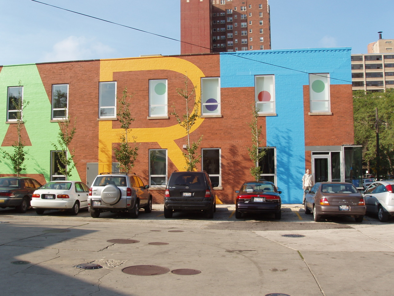 Hyde Park Art Center's South Wall at 5020 South Cornell in Chicago