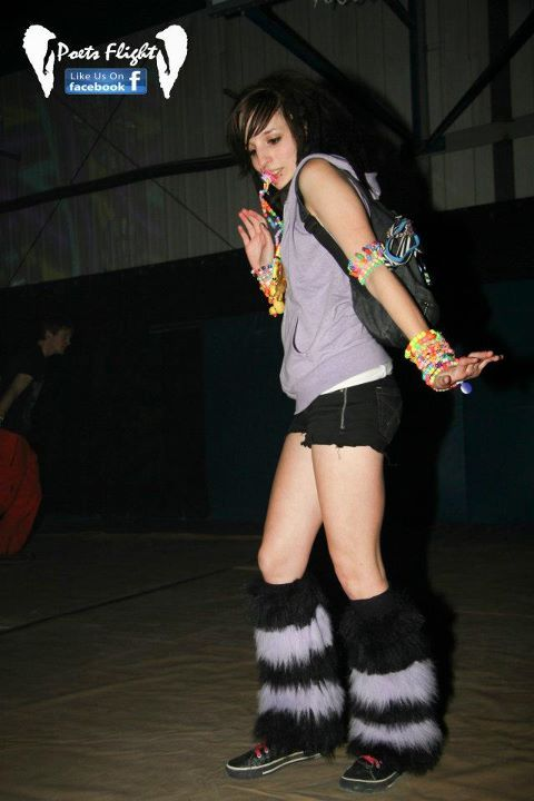 me from last friday (the rebellion) i made those fluffies btw c: