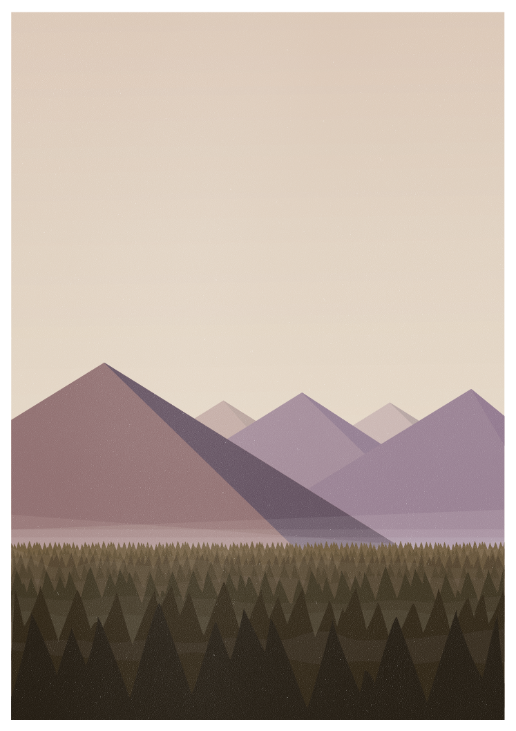 Twin Peaks Poster UPDATE: This is now available as a high quality print over at Society6. Click here to buy it.