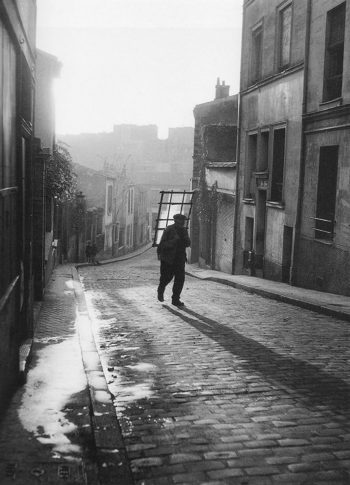 luzfosca:  Willy Ronis Rue Laurence Savart, 1948