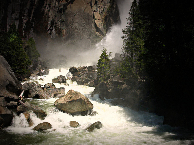 Vernal Fall, Merced River on Flickr.bjs '11
