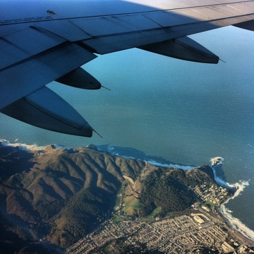 Leaving SF #flipdisney  (Taken with instagram)