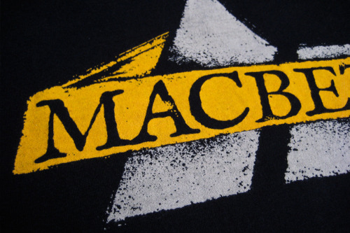 macbethglobal:  Macbeth Spring12 Tee Sneak Peek