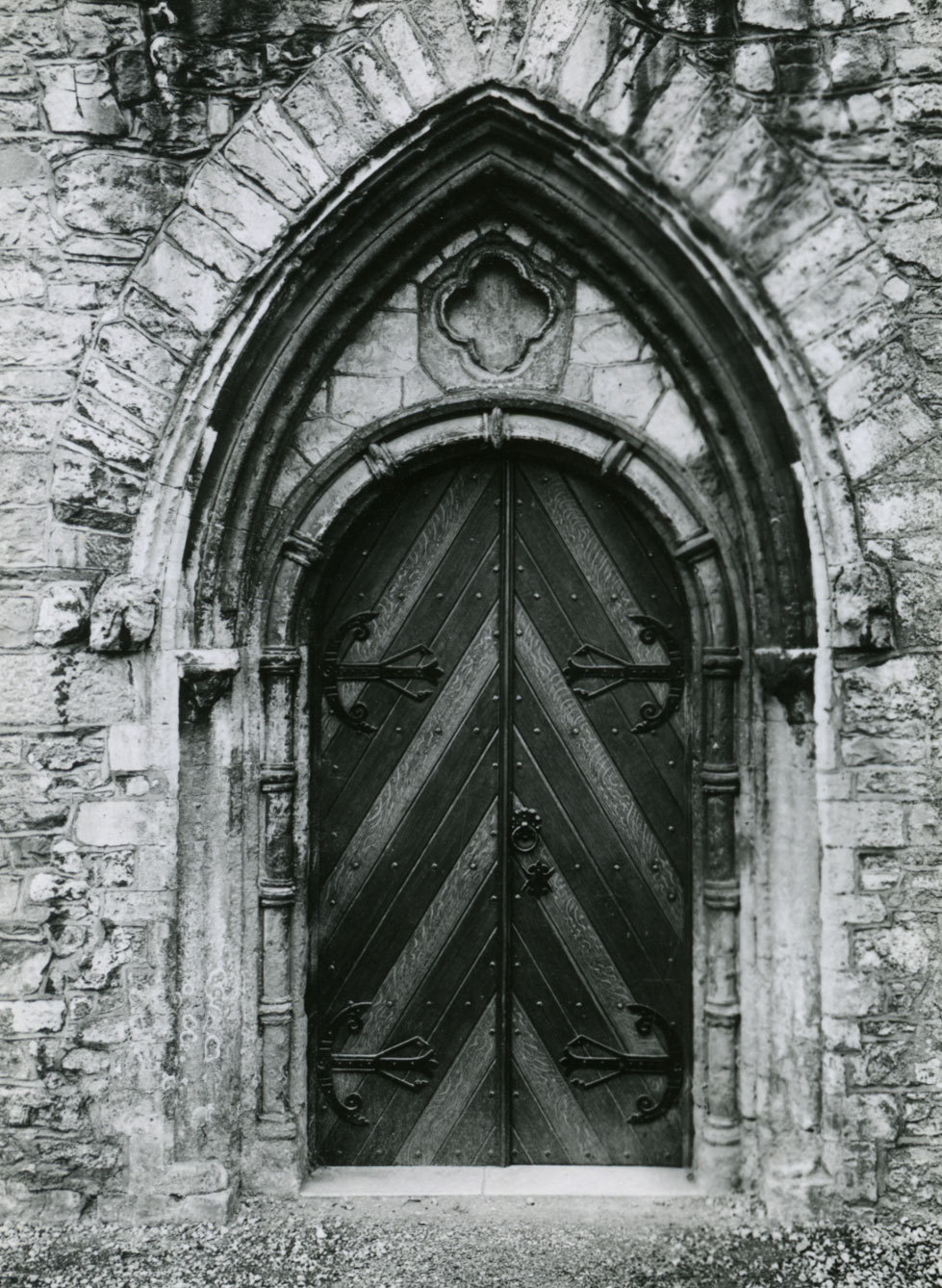 St. Canice's Cathedral, Kilkenny, County Kilkenny - Doorway Author: Rae, Edwin Issue Date: 2008