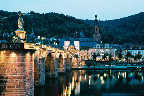 Beautiful Heidelberg.  I'm so glad I can say I grew up there.