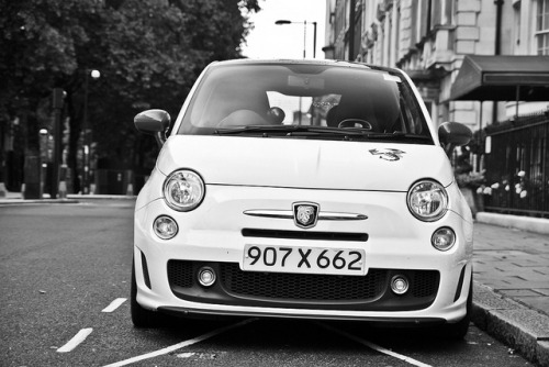 LOVING the scorpion on the hood! amazingcars:  Abarth. by Jurriaan Vogel on Flickr.