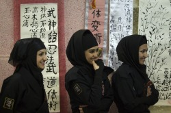 I find Iran's army of deadly ninja women kinda cute.