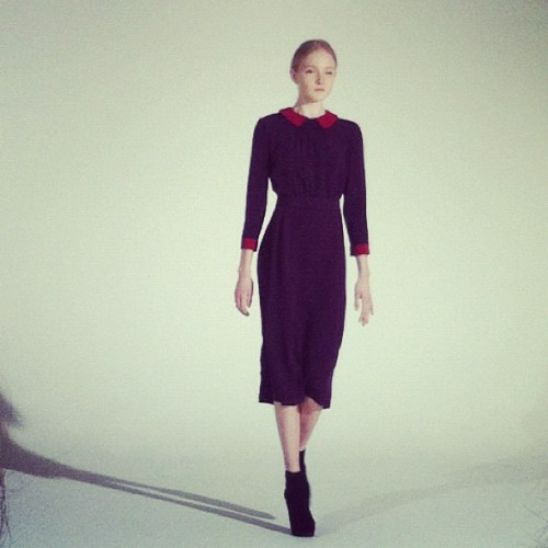 Shirt dresses at Victoria Victoria Beckham Photographed by Jane Keltner de Valle