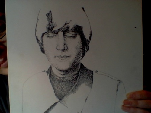 stippling update.. this will take forever -____-
