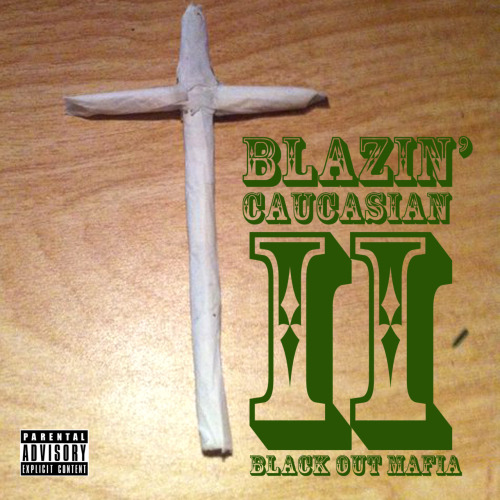 "Here is the official album art work to the upcoming T.N.D. release ""The Blazin' Caucasian Part 2"". The follow up to TBC Part 1 will be dropping March 27th!  The official track list will be posted as soon as we get close to the date. Shout out to Austin Davis for the cover art! IF YOU CLICK THE ART WORK YOU WILL BE REDIRECTED TO OUR REVERBNATION PAGE WITH AN EXCLUSIVE SINGLE FROM THE BLAZIN CAUCASIAN PART 2 AS WELL AS TRACKS FROM ALL OF OUR ARTISTS!"