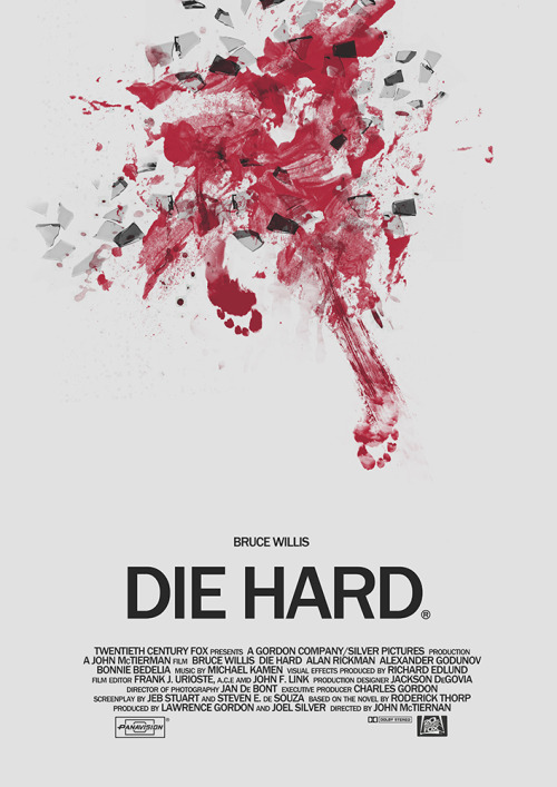Die Hard by The Off World  fuckyeahmovieposters:  Die Hard by The Off World