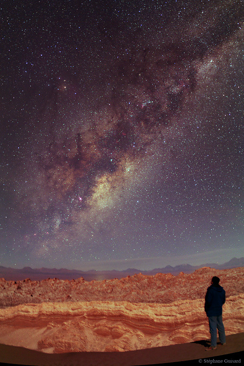 ikenbot:  Andes Milky Way by Stephane Guisard