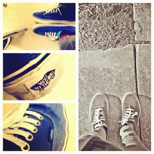 #vans #swag #fresh #shoes #offthewall #mostdope #thumbsup #colors #photography #macmiller #music #rap #popularpage #ovoxo #sexy #skateboard #bigsean #instagram (Taken with instagram)