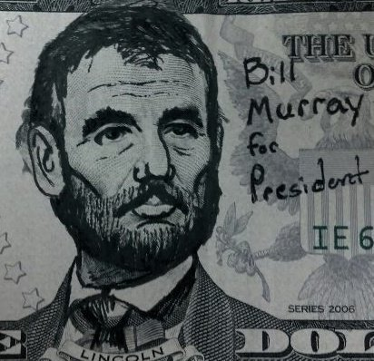 jcd187:  Bill Fucking Murray $5 I made.