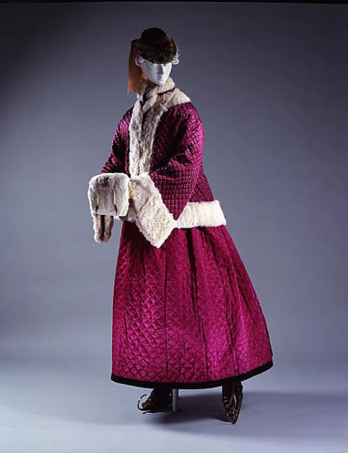 Skating ensemble 1865-67 V&A