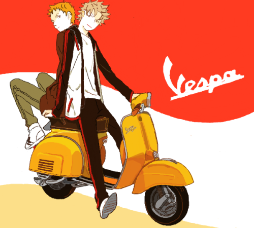Vespa Anime (via starlight-breaker)