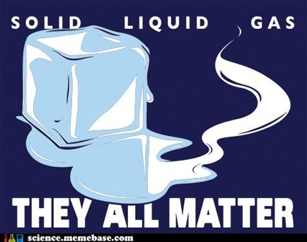 sciencememes:  Solid,liquid,gas……