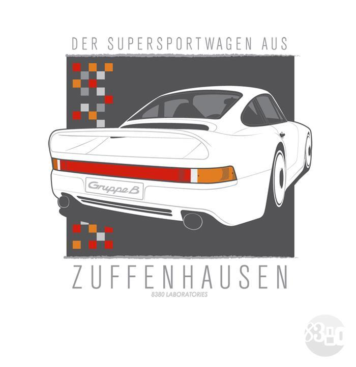 hakkalocken:  Porsche 959.   That's a new t-shirt by 8380 industries, looks sick!
