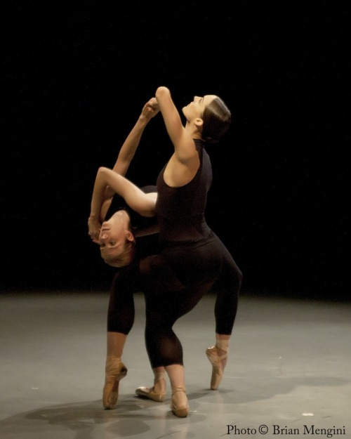 Michele Wiles and Drew Jacoby performing with Ballet Next.