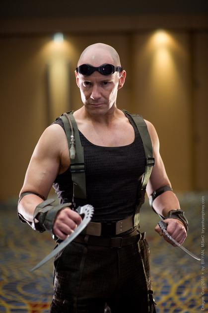 Riddick from Chronicles of Riddick  Cosplayer: Matt GlasgowPhotographer: Bryan Humphrey