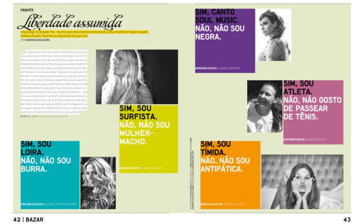 We were featured in Revista TPM magazine's February issue! :) It's a Brazilian magazine and in Portuguese, and there's a short piece about me and this blog. It's on their website as well! Thanks, TPM :)