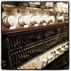#music #musica #audio #analog #engineer (Taken with instagram)