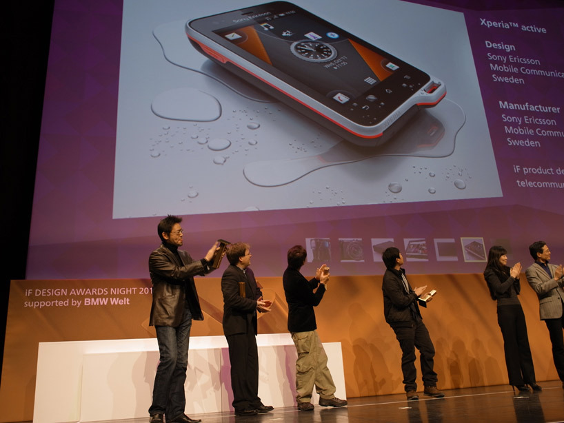 (via sony at the iF design awards night 2012)
