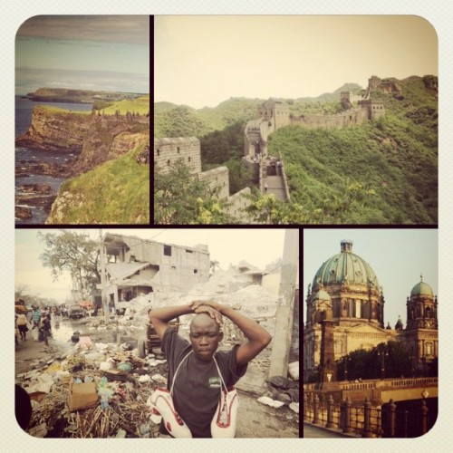 I could be in all of these countries in the next 7 months #ireland #eastasia #haiti #germany  (Taken with instagram)