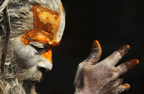 © Niranajan Shrestha / Associated Press, Feb. 2012, Katmandu, Nepal A Hindu holy man smears his body with ash and vermillion powder at the courtyard of the Pashupatinath Temple as celebrants begin arriving for the Shivaratri festival, dedicated to the worship of Lord Shiva, on Feb. 20. I've been to the Shivaratri festival in Haridwar (India) in 2010 when visiting the Kumbh Mela and have to say that this was one of the most amazing things I have ever experienced. As I'm no religious person (I'm more an agnostic), it had to be something else - I just can't put it into words, neither in English, nor in my mother tongue, so I don't even try it, I only got five advices for you: see it with your own eyeshear it with your own earssmell it with your own nosetaste it with your own tonguefeel it with your own hands