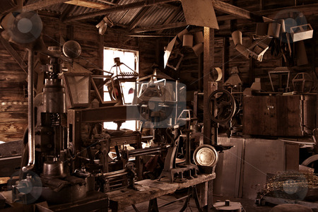 A mechanical mastermind's workshop