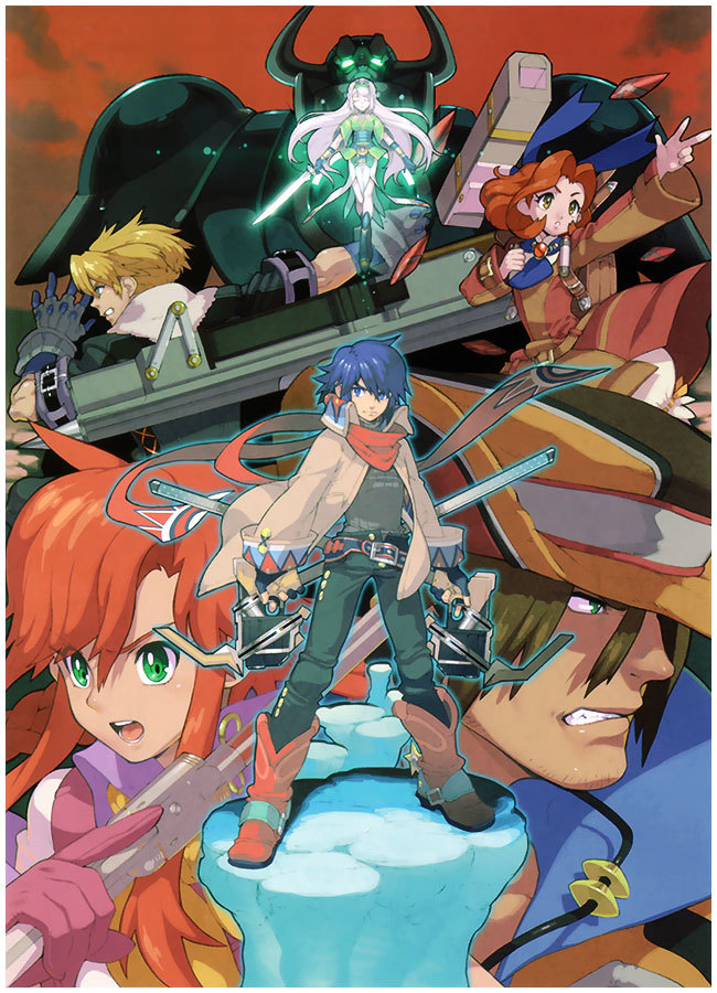 gameraddictions:  Wild Arms 5 Protagonist's & Antagonists promo art