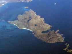 "This is where I live. The Island of Eriskay in the Western Isles of Scotland. Fr Allan MacDonald wrote (in Gaelic):  ""Should I even have my choice I'd prefer of all in Europe A dwelling place beside the wave In the lovely Isle of Youth. It's bare of foliage, bare of bent-grass, Bare of barley sowing, But beautiful for all its bareness Is each sod of it to me."""
