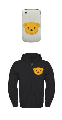Honey Bear Blackberry Case Honey Bear Zip Hoodie Copyrights © Rococo Nika Galleryfrom Colorful Nika Store and Rococo Nika CafePress Store   See other Honey Bear products!