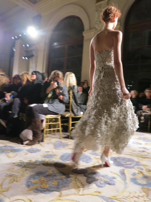 Back in Action. Marchesa: Fall 2012.