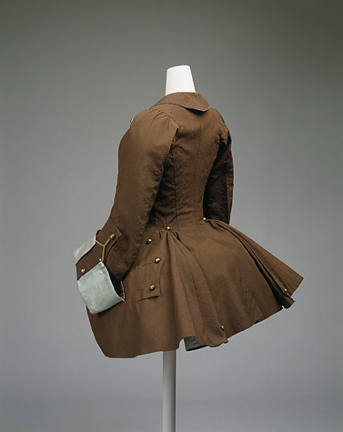 Riding Coat 1760 V&A