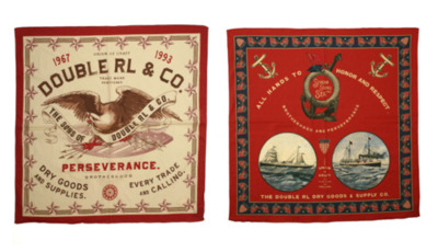 RRL - Spring / Summer 2012 Vignette and Perseverance Buckaroo Bandanas Founded in 1993, RRL is driven by quality and authenticity, with an obsessive attention to time-honored details and construction techniques, as well as unwavering dedication to the heritage and craftsmanship of vintage American denim. Utilizing only the finest materials available, RRL denim is made in the USA using extremely rare manufacturing techniques and construction details. The RRL Icon Collection is the foundation of RRL, comprised of American-made denim, indigo-dyed chambray work and western shirts, military grade chinos and tube-knit T-shirts. The SS12 RRL collection pulls inspiration from historical marine surplus, turn-of-the-century American engineer's garments and the life of British archaeologist T.E. Lawrence. The three deliveries include: Merchant Marine, Craftsman and T.E. Lawrence.