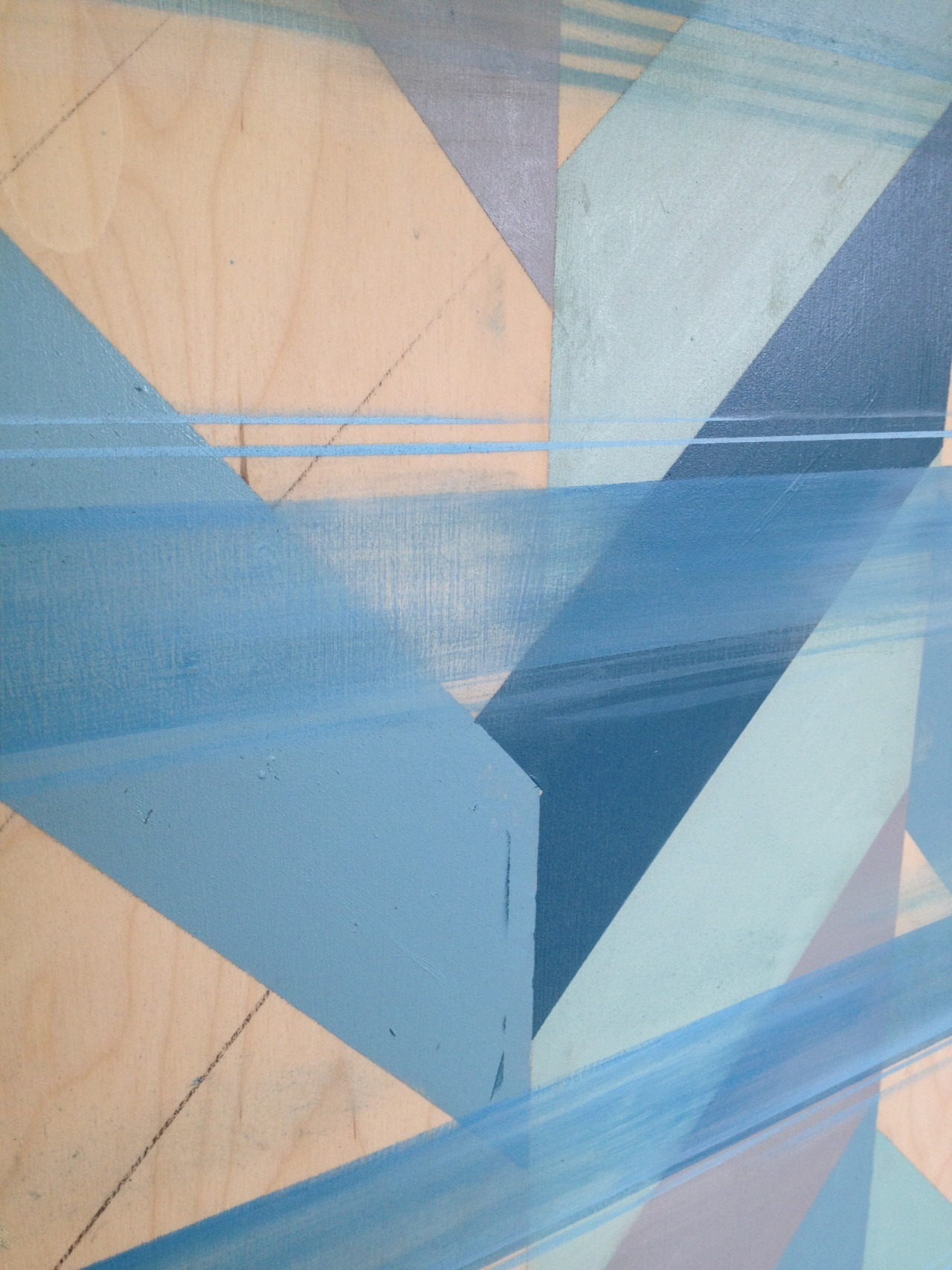 Detail : Untitled (Blue I)