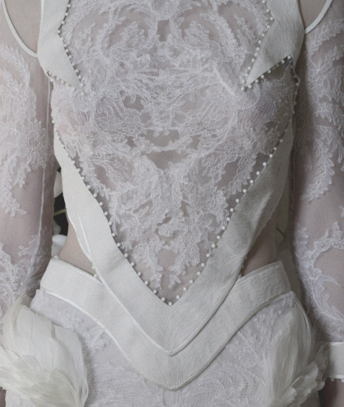 lavandula:  givenchy haute couture autumn/winter 2011-2012