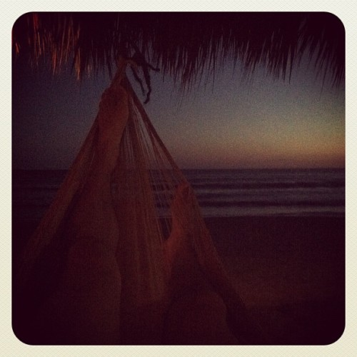 Despertando de la siesta  (Taken with Instagram at Zipolite)