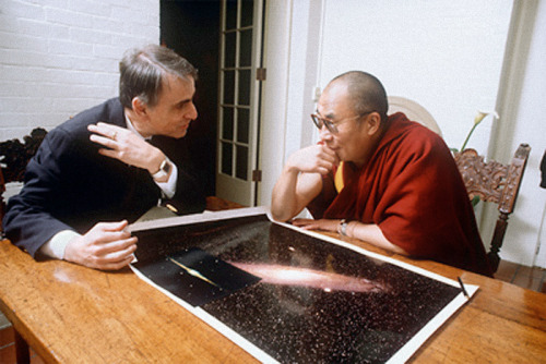tamburina:  Carl Sagan and Dalai Lama