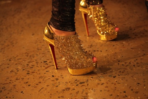 sparkly shoes, amazing!