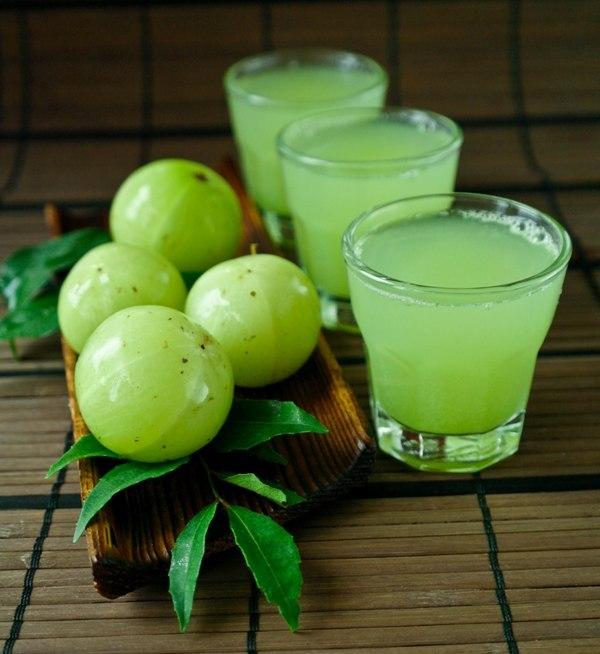 gooseberry juice.