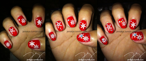 Red Snowflake for last christmas! Transitions :)