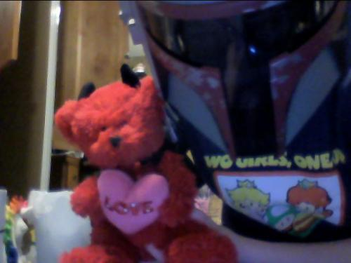 Look at what my mommy got me for Valentine's day guys! <3